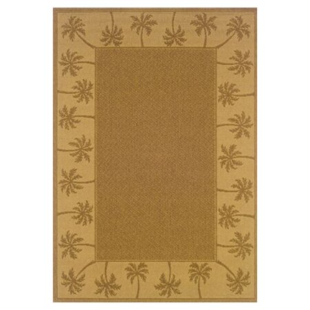 Goldenrod Tan/Beige Indoor/Outdoor Area Rug by Bay Isle Home