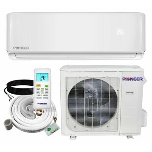 12,000 BTU Ductless Mini Split Air Conditioner with Heater and Remote by Pioneer Minisplit