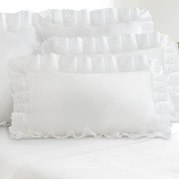 Treyvon Eyelet Sham (Set of 2) by Bloomsbury Market