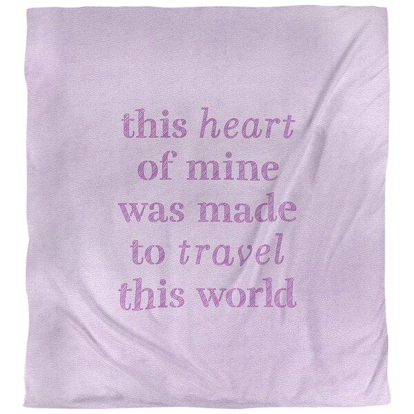 Quotes Handwritten Travel Love Single Reversible Duvet Cover