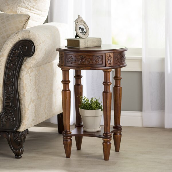 Barron End Table by Astoria Grand