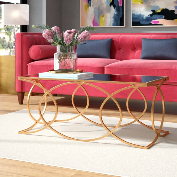 Melina Geometric Coffee Table By Everly Quinn
