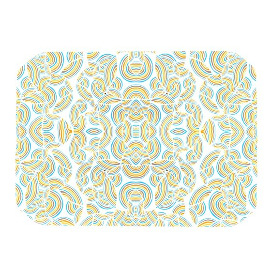 Infinite Thoughts Placemat by KESS InHouse