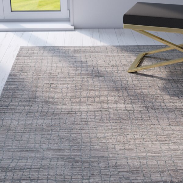 Boathaven Gray/Blue Area Rug by Willa Arlo Interiors