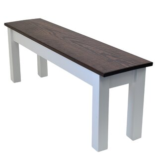 1776 Solid Wood Bench by Winston Porter SKU:AA348688 Shop