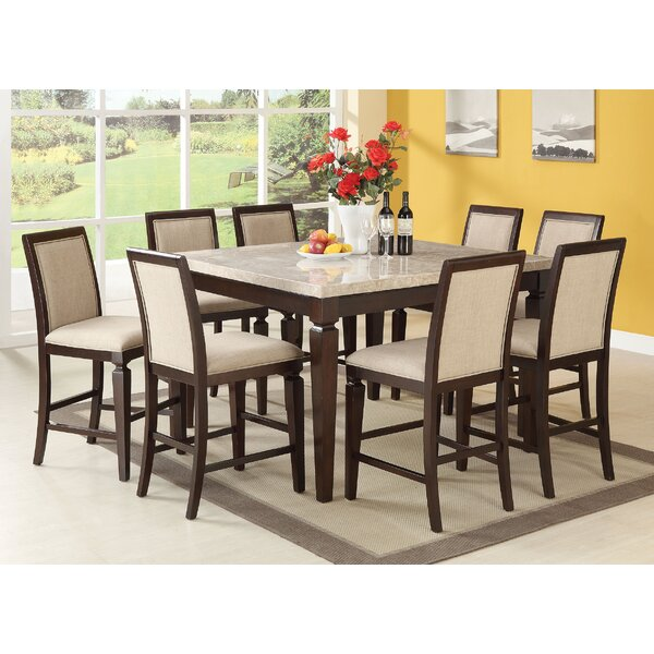 Matt 9 Piece Dining Set by Red Barrel Studio