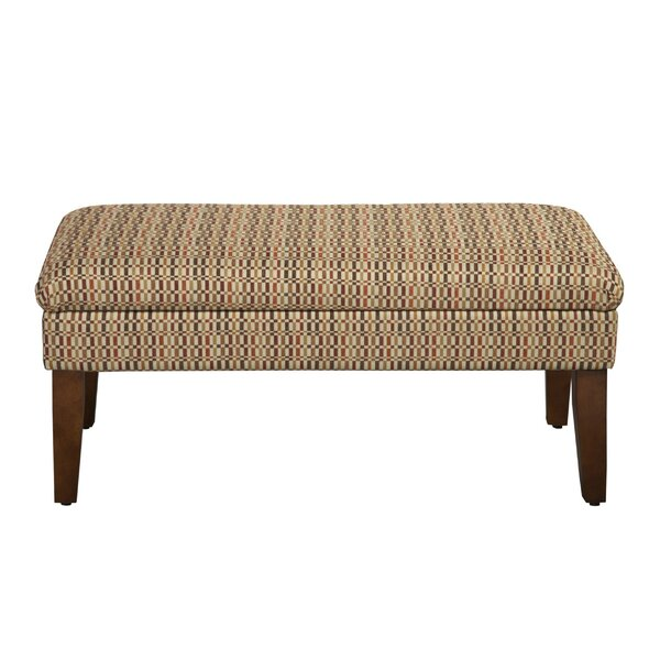 Barley Upholstered Storage Bench by Wrought Studio