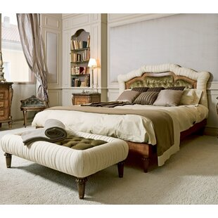 Venezia Upholstered Platform Bed by Annibale Colombo