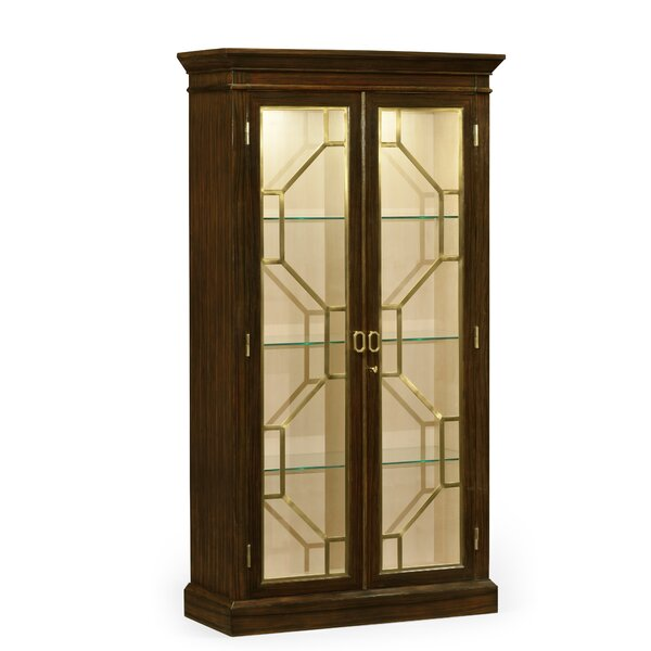 Octavia Two-Door Lighted Curio Cabinet by Jonathan Charles Fine Furniture