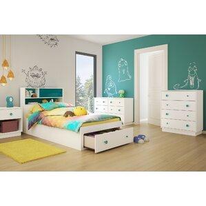 kid bedroom set. Little Monsters Twin Platform Configurable Bedroom Set Kids Sets