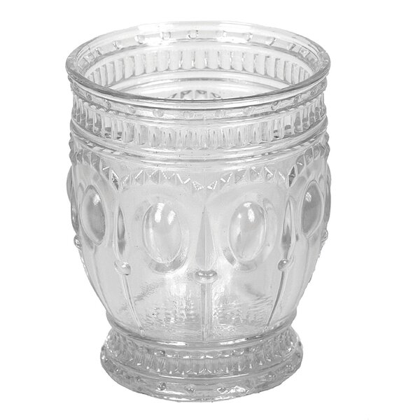 Watford Embossed 8 oz. Glass Every Day Glass (Set of 4) by Astoria Grand