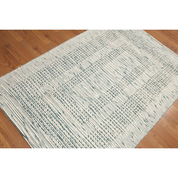 Petrus Flat Pile Ivory Area Rug by Union Rustic