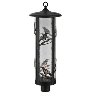Fulton Raven 1-Light Lantern Head By Meyda Tiffany Outdoor Lighting