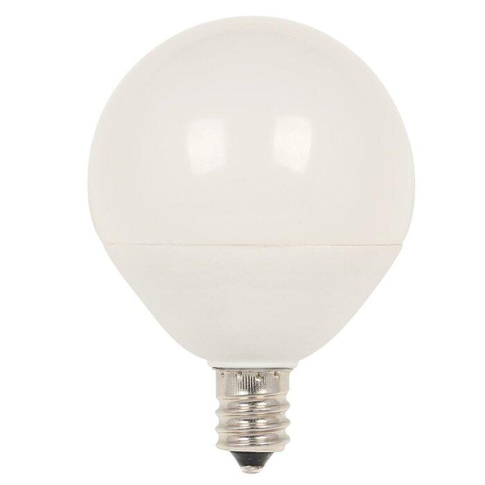 7w E12 Dimmable Led Globe Light Bulb