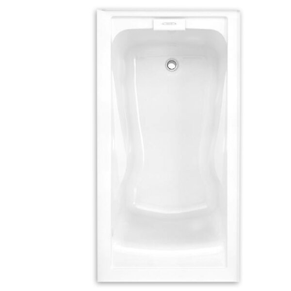 Evolution 60 x 32 Deep Integral Apron Alcove Soaking Bathtub by American Standard