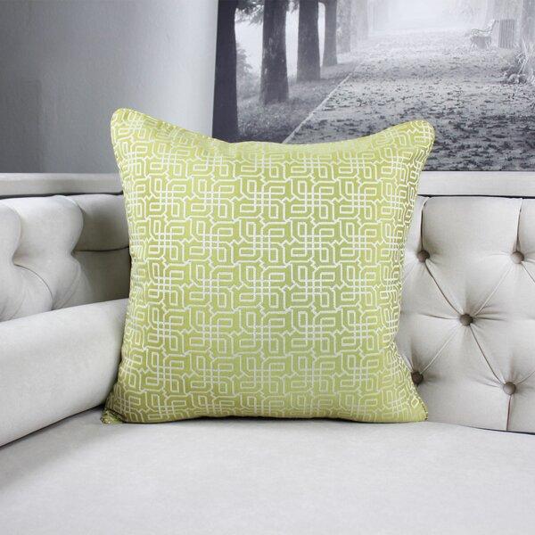 Lounsbury Cozy Jacquard Plaid Pillow Cover by Winston Porter