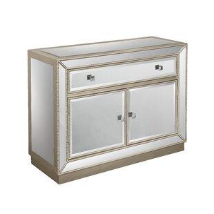 Read Reviews Primm 2 Door 1 Drawer Cabinet by Willa Arlo Interiors