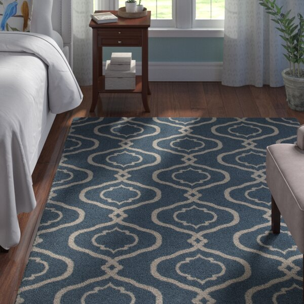 Coffman Rectangle Blue Area Rug by Andover Mills