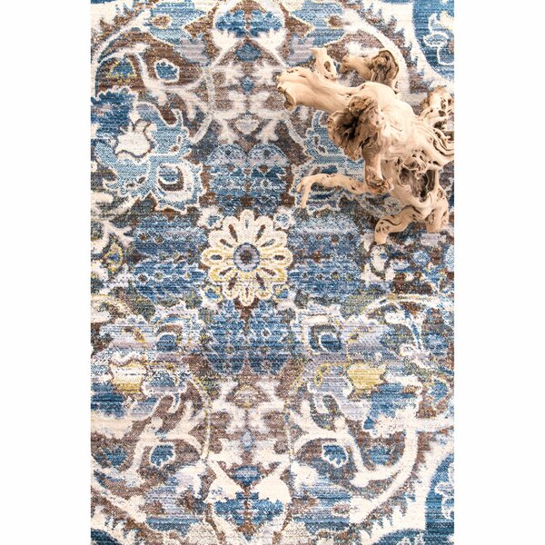 Ryane Blue/Gray Area Rug by 17 Stories