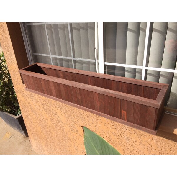Window Wood Planter Box by Best Redwood