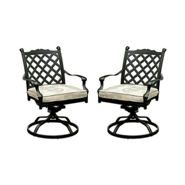 Caraballo Fabric Rocking Chair (Set Of 2) By Darby Home Co