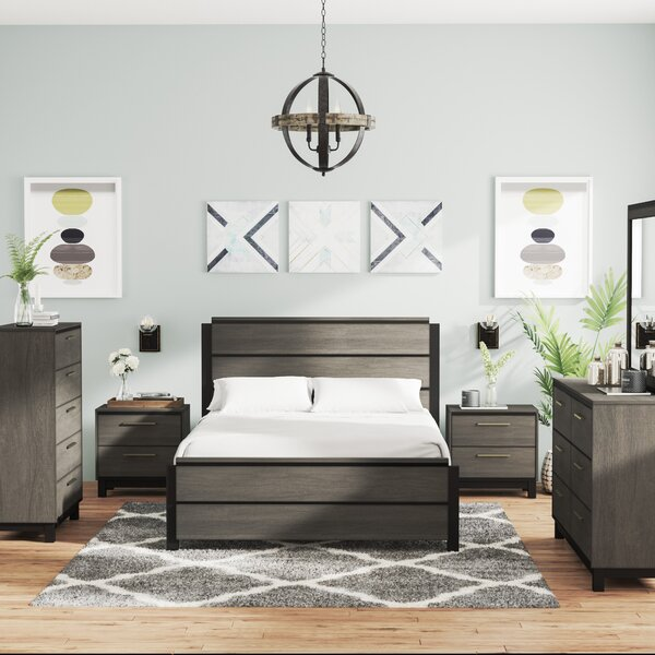 Mandy Platform 6 Piece Bedroom Set by Gracie Oaks