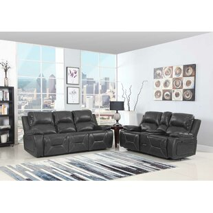 Trower Reclining 2 Piece Living Room Set Red Barrel Studio