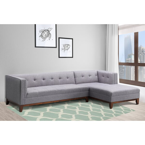 Hornsea Tufted Sectional by Corrigan Studio
