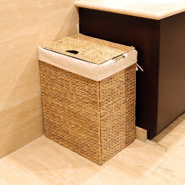Seville Classics Foldable Wicker Laundry Hamper Amp Reviews
