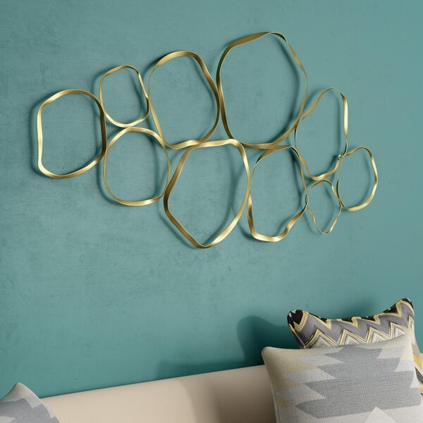 Shimmering Metal Wall Décor by Mercury Row