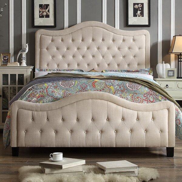 Sieber Upholstered Standard Bed by Winston Porter