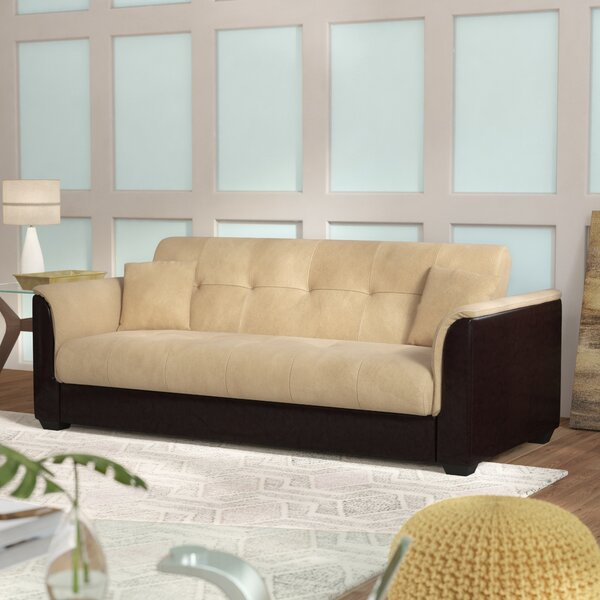 Priced Reduce Avah Champion Convertible Sofa by Ebern Designs by Ebern Designs