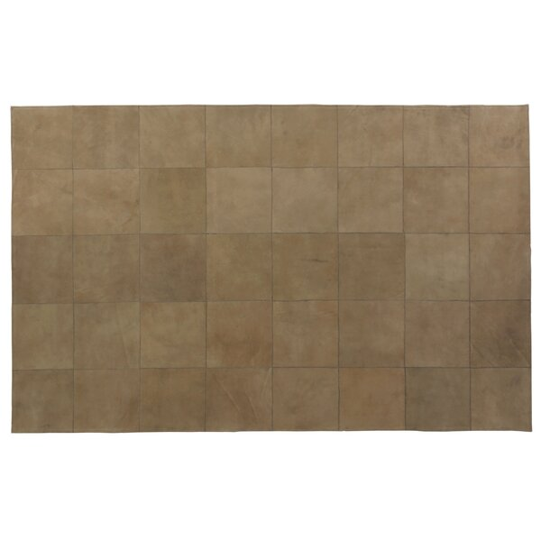 Suede Hand Woven Camel Area Rug by Exquisite Rugs