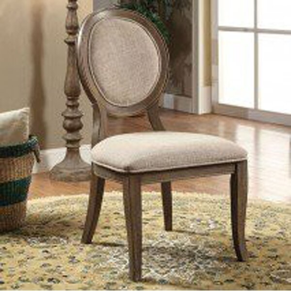 Aslan Upholstered Dining Chair (Set of 2) by One Allium Way