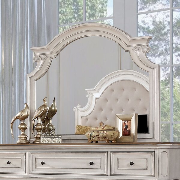 Miah 7 Drawer Double Dresser with Mirror by Rosdorf Park