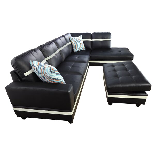 Meira Sectional With Ottoman By Latitude Run