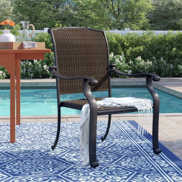 Harland Patio Dining Chair by Sol 72 Outdoor