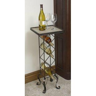4 Bottle Floor Wine Rack by J & J Wire