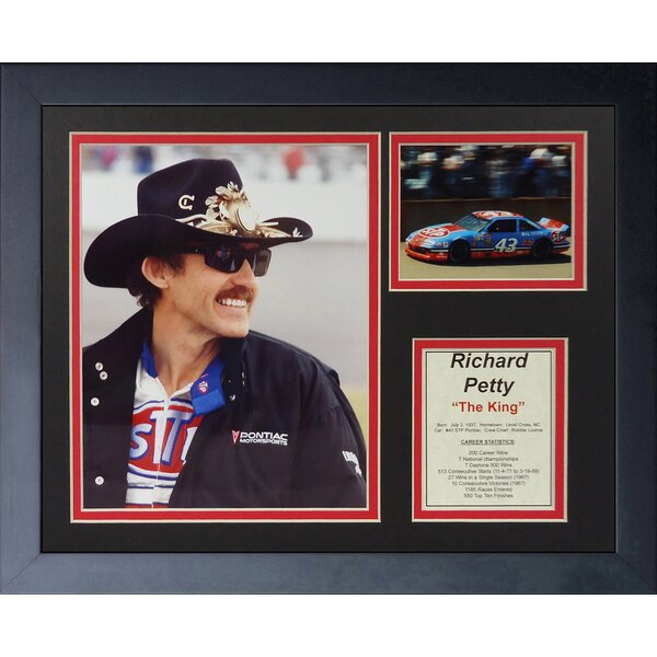 Richard Petty Framed Memorabilia by Legends Never Die