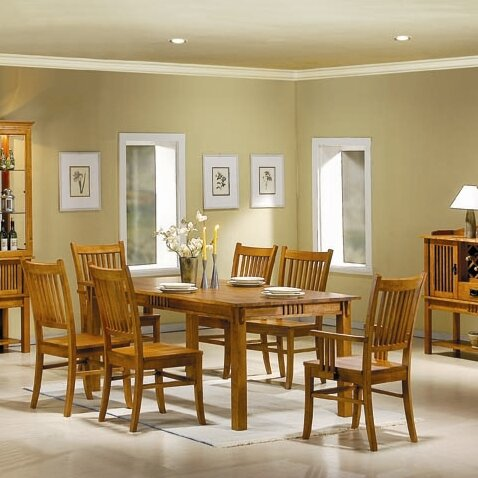 Pemberville 7 Piece Dining Set by Alcott Hill