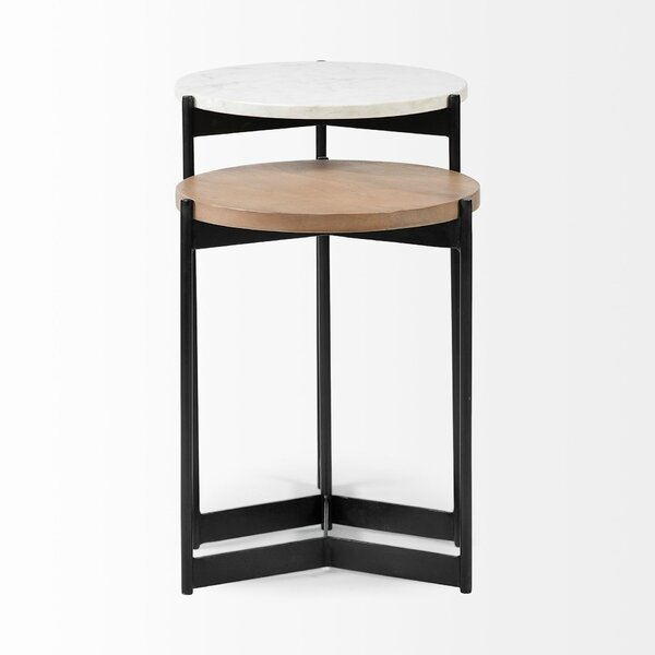 Review Ekbote 2 Piece Nesting Tables
