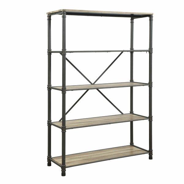 Arballo Pipe Inspired Steel Frame Etagere Bookcase By 17 Stories