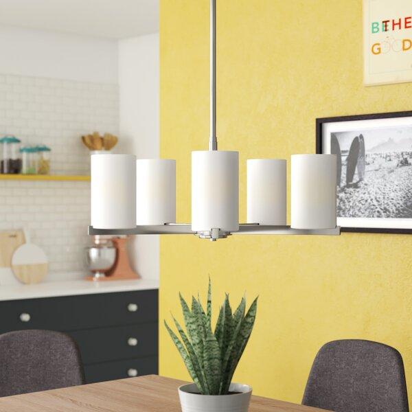 Delvin 5-Light Shaded Classic / Traditional Chandelier by Zipcode Design Zipcode Design