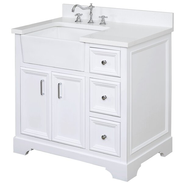 Zelda 36 Single Bathroom Vanity Set by Kitchen Bat