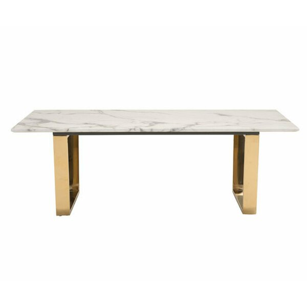 Affordable Price Puma Sled Coffee Table by Everly Quinn