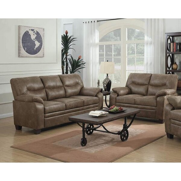 Mulford 2 Piece Living Room Set by Winston Porter