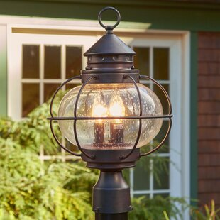 Outdoor post mount lighting wayfair chincoteague outdoor post lantern aloadofball Choice Image