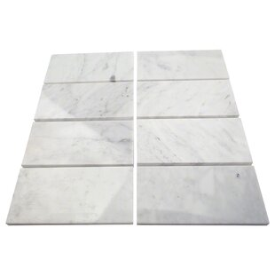 3 X 6 Marble Subway Tile In Crema Marfil