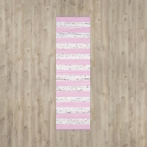 Figuig Ivory / Light Pink Area Rug by Bungalow Rose