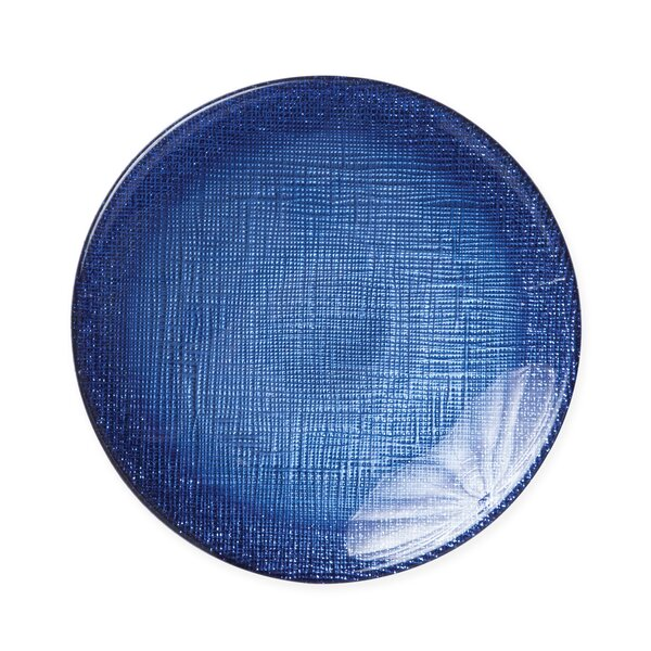 Glitter Canape 6 Saucer Plate by VIETRI